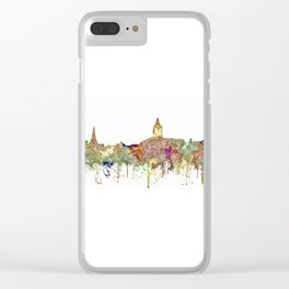 Annapolis, Maryland Skyline  - Faded Glory Clear iPhone Case
