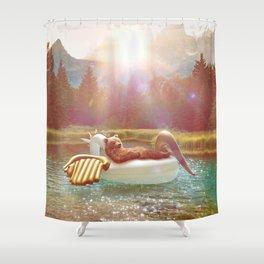 ataraxia Shower Curtain