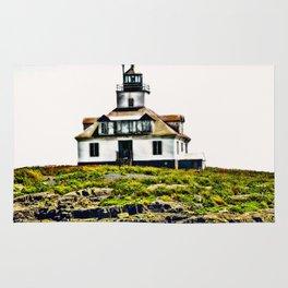 Lighthouse Island Photography Rug