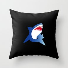 He is popo. Throw Pillow