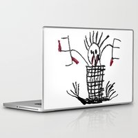 skeleton Laptop & iPad Skins featuring Skeleton by WeKids Design