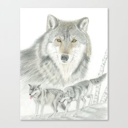 The Hunters Canvas Print