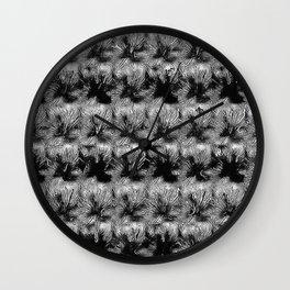 METAL FLOWERS Wall Clock