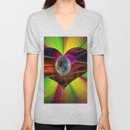 Flowermagic - Gift idea Unisex V-Neck