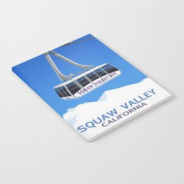 Squaw Valley Ski Resort ,LakeTahoe , California Notebook