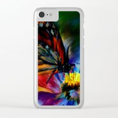 Papillon Clear iPhone Case