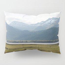 Misty Mountain Sunset Photography Print Pillow Sham