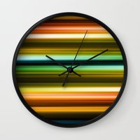 broadway Wall Clocks featuring Broadway by JoergRichter