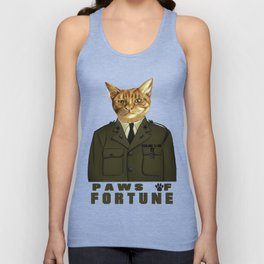 Paws of Fortune Unisex Tank Top