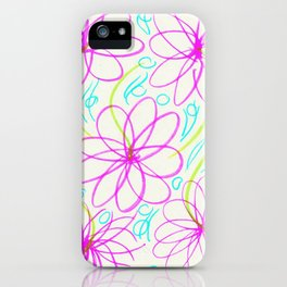 Flowers in the Lake iPhone Case