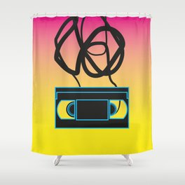 80's problems: VHS Shower Curtain