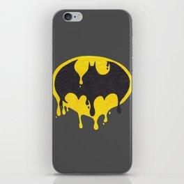 Drippy Bat man iPhone Skin