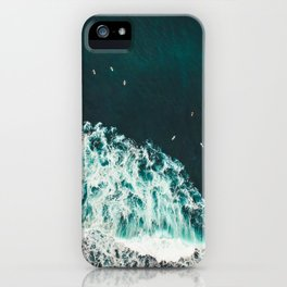 WAVES - OCEAN - SEA - WATER - COAST - PHOTOGRAPHY iPhone Case