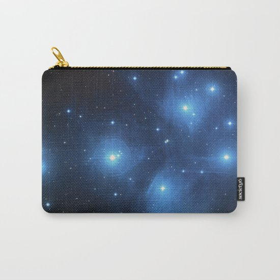 Taurus Constellation, Pleiades star cluster Carry-All Pouch