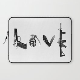 All's Fair in Love and War Laptop Sleeve