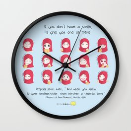 One of My Smiles Wall Clock