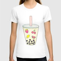 boba T-shirts featuring Boba by Anastasia Flowers
