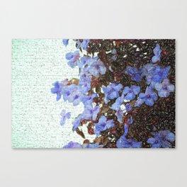 Urban flowers Canvas Print
