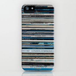 Old Vinyl iPhone Case
