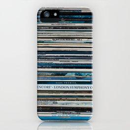 Old Vinyl iPhone Case