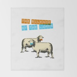The silence of the lambs Throw Blanket