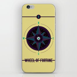 WHEEL OF FORTUNE iPhone Skin