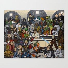 The Mos Eisley Cantina Canvas Print