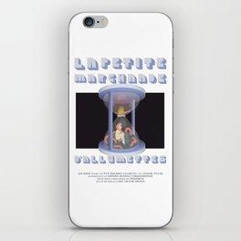 La Petite Marchande d'Allumettes iPhone Skin