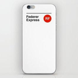 Federer Express iPhone Skin