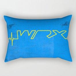 WRX Heartbeat Rectangular Pillow