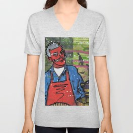 Demon Jaques and the Julia Specter Unisex V-Neck