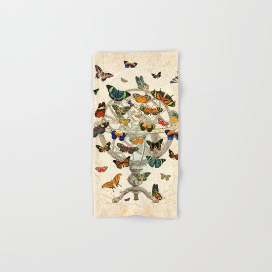 Butterfly House Hand & Bath Towel