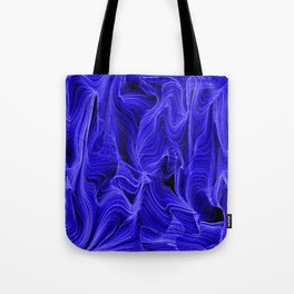 Midnight Blue Mist Tote Bag