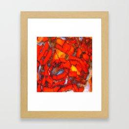 Lavic Jasper  Framed Art Print