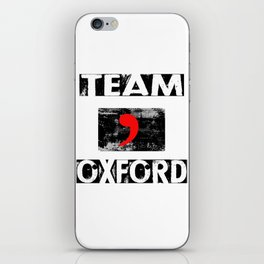 Team Oxford iPhone Skin