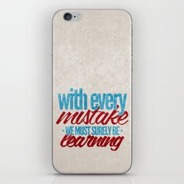 While My Guitar Gently Weeps.  iPhone Skin