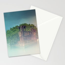 Shipwreck in the Mist Stationery Cards