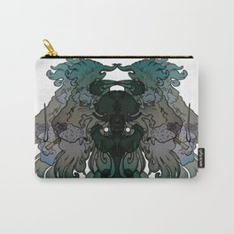 Smoking Lion Carry-All Pouch