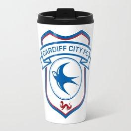 cardiff city Travel Mug