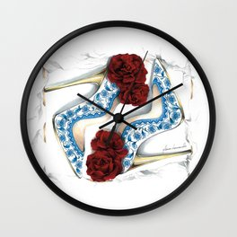 Porcelain Dreams Wall Clock