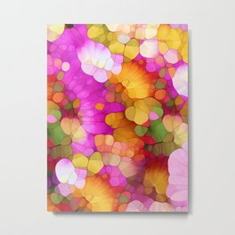 Happy Colors - Soul Vitamins Metal Print