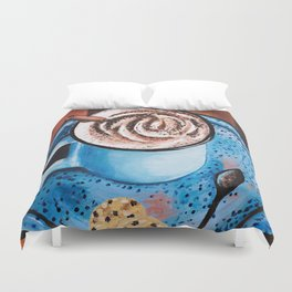 Cappucino Time Duvet Cover