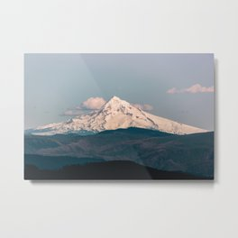Mt. Hood Memories - 118/365 Nature Photography Metal Print