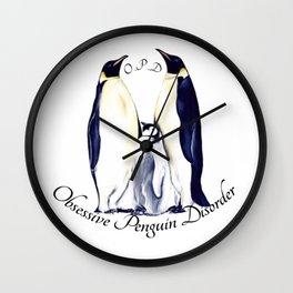 OPD (light colored shirts) Wall Clock