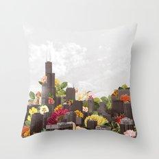 Growth Throw Pillow