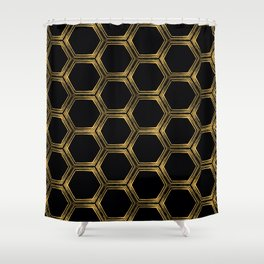 A Hex Upon You Shower Curtain