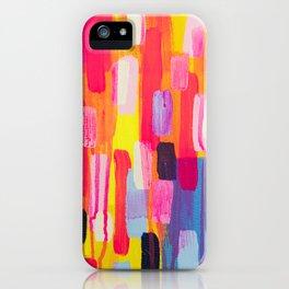 Neon Cities iPhone Case