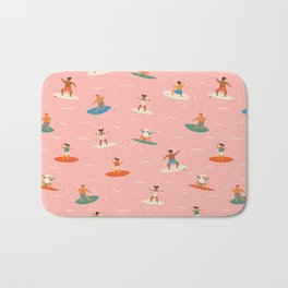Surf kids Bath Mat
