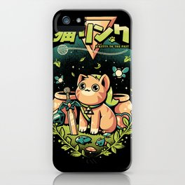 A Kitty to the past iPhone Case