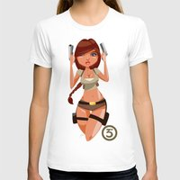 megan lara T-shirts featuring Lara by Pweety Sexxay